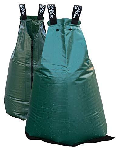 QUICK STAR 2 Stück Tree Bag 75L Baumbewässerungssack Tropfen Wasserbehälter Wassersack