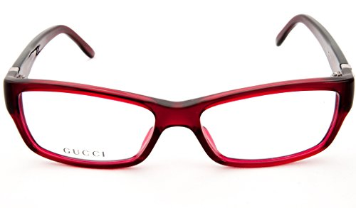 GUCCI Montura gafas de ver 3573 0E67 Burdeos 52MM
