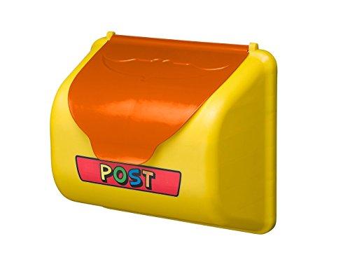 OSKAR Briefkasten für Kinder zum Spielen mit Deckel aus PE inkl. Befestigungsmaterial für Spielturm!
