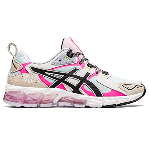 ASICS Damen Gel-Quantum 180 Sneaker, Aqua Angel/Hot Pink, 41.5 EU