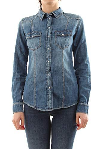 Guess Camicia Jeans Donna Lalima L/S Shirt ES21GU95 W1GH11D14LN XS