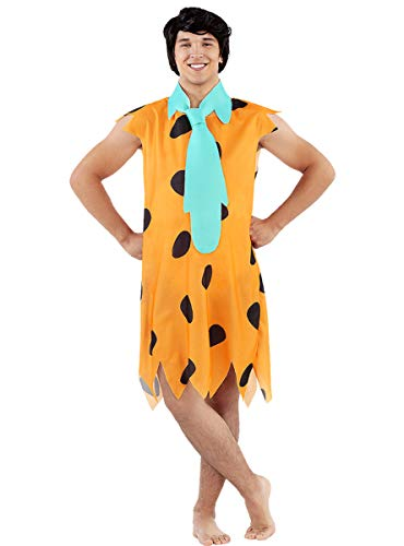 Funidelia | Disfraz de Pedro Picapiedra - Los Picapiedra Oficial para Hombre Talla Estándar ▶ The Flintstones, Dibujos Animados, Los Picapiedra, Cavernícolas