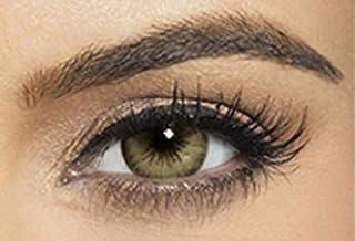 Bella Colored Diamond Collection Cosmetic Contact Lenses - Carribean Green