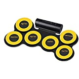 JXRY Portable Children's Toy Wireless Electronic Drum Folding Drum Set...