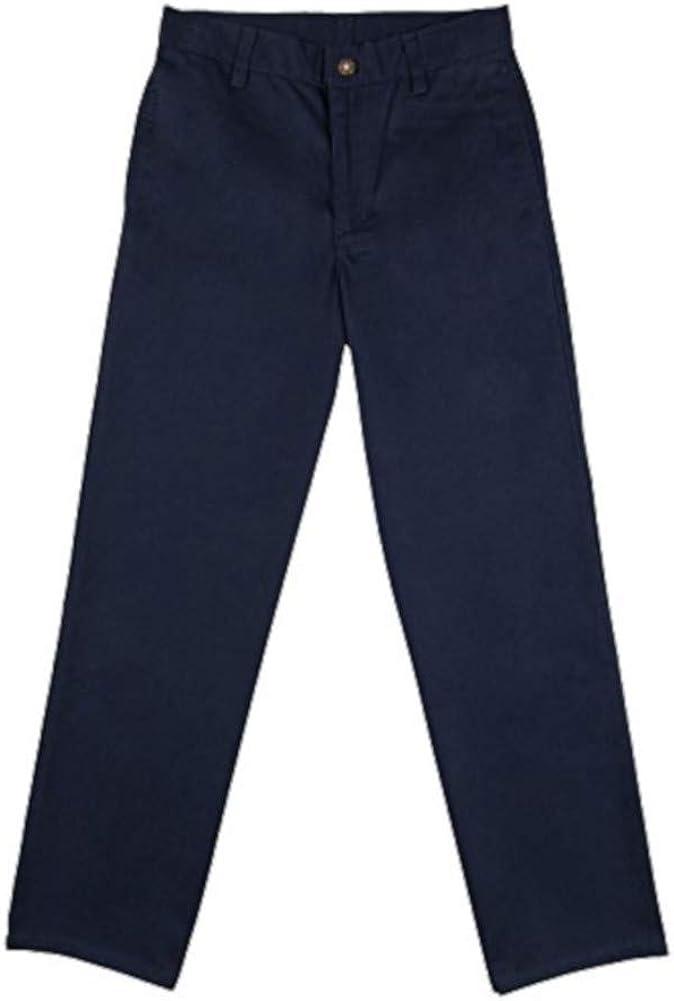 Arrow Boys Size 10 Easy Care Adjustable Waistband Uniform Pants, Navy