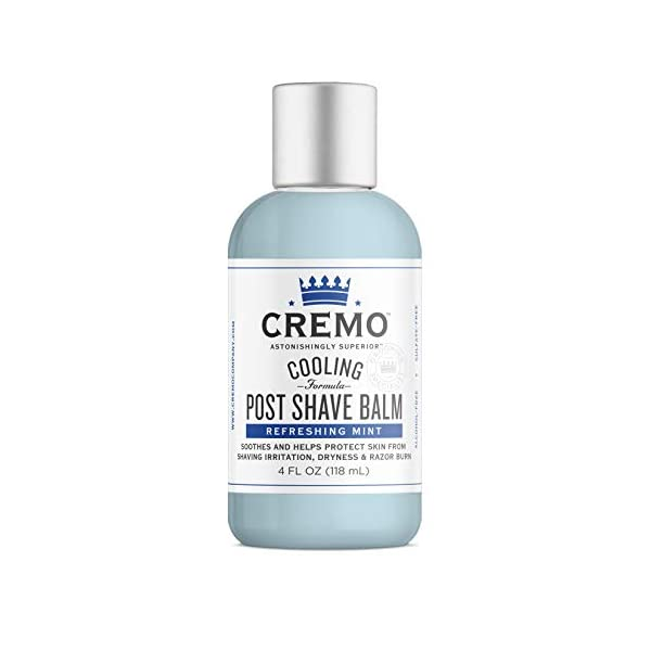 Cremo Cooling Formula Post Shave Balm, Soothes, Cools And Protects Skin From Shaving Irritation, Dryness and Razor Burn… 1