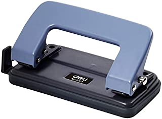6 mm de diámetro puede utilizar estudiante de escuela 10 Páginas de dos agujeros estándar Perforadora sacador del papel Punzonadora Con RulerRandom color Para