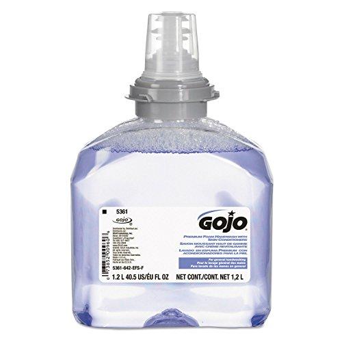 Gojo 5361-02, TFX Foam Soap 1200mL Refill, 2 Refills/Case