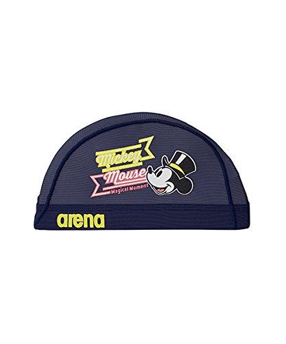 arena(アリーナ) スイムキャップ メッシュキャップ ディズニー Mサイズ ネイビー(NVY) DIS-8359