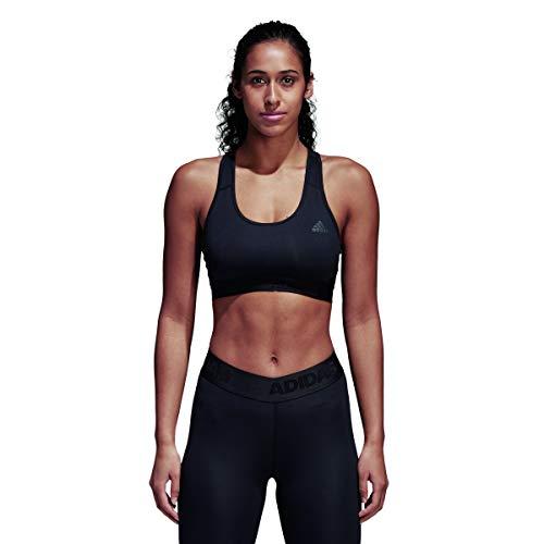 adidas Alphaskin Don't Rest Sujetador Deportivo, Negro (Black), XS para Mujer