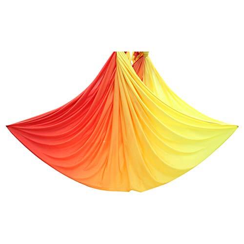 ZBF 6 Metri di Amaca di Yoga Tessuto Ombre Anti Gravity Accessori Yoga Aerei Aerial Swing Trapeze...