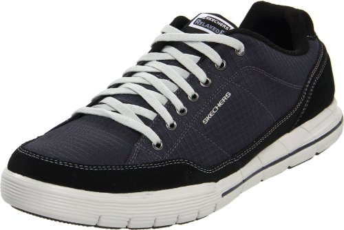 Skechers Arcade Ii - Circulate, Herren Sneakers, Blau (navy/black Nvbk), 47.5 EU