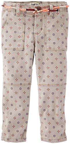OshKosh B'Gosh, gewebte Hose für kleine Mädchen, Mehrfarbig, 6X