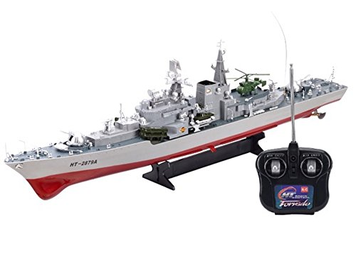 "Smasher Destroyer 31"" RC HT-2879 War Ship"