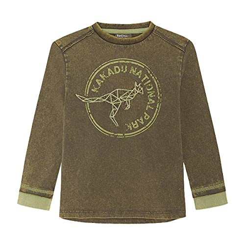 Tuc Tuc Camiseta Punto Raw Cotton, Verde, 12A para Niños