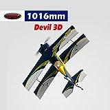 DYNAM RC Airplane Devil 3D 1015mm Wingspan - PNP
