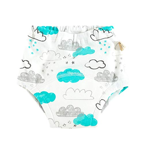 Yurgrt Unisex Premium Protection Windeln/Happy Windeln/Anti Leakage Trainingshose für Babys,Baby Trainingshose,Wiederverwendbare Baumwolle,Babywindeln,Ideal Beim Töpfchentraining(C)