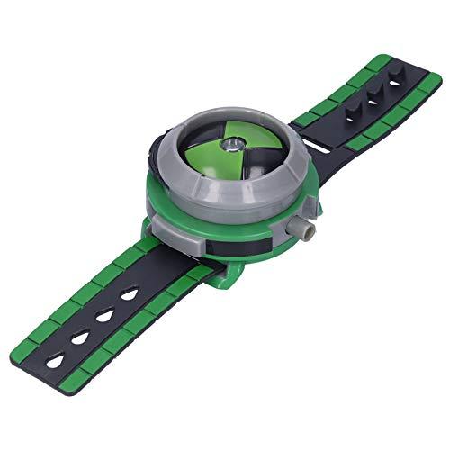 Duokon Reloj De Banda para Niños, Reloj De Proyector De Plástico con Tapa, Reloj para Niños, Juguete con 3 Tarjetas De Proyección, Regalo De Cumpleaños De Navidad