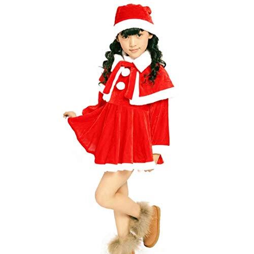 Christmas santa costume kids Santa Fancy Dress for...