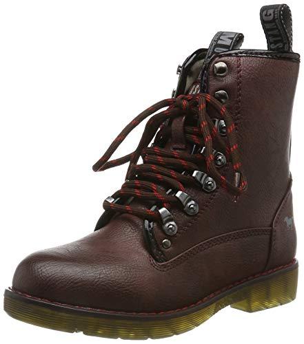 MUSTANG Unisex-Kinder 5055-602-55 Klassische Stiefel, Rot (Bordeaux 55), 33 EU
