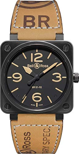 BELL & ROSS Heritage Automatico XL Orologio BR 01-92 Heritage
