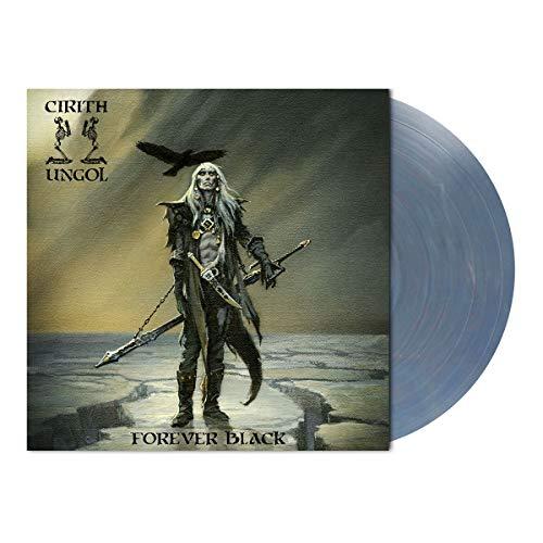 Forever Black (Vinyl Light Blue,Red Marbled Limited Edt.)