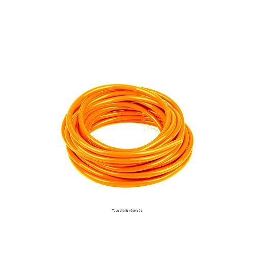Durite Orange Ø6mm X 6 Mètres Souple