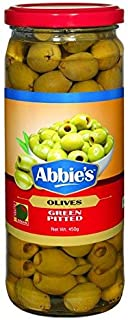 Abbie's Green Pitted Olive 450g Pack of 1