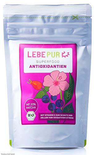 LebePur Bio Smoothie Pulver Antioxidantien 125g