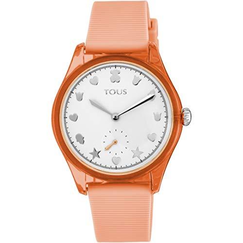 Reloj Tous 900350055 Free Fresh de Acero y policarbonato con Correa de Silicona Coral