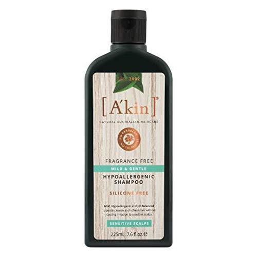 A'kin Sehr sanftes Shampoo ohne Duft, 225 ml.