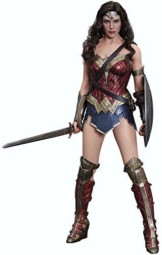 Movie Masterpiece Batman vs Superman Justice Wonder Woman 1/6 Scale Action Figure by Hot Toys
