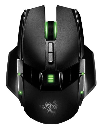 Razer Ouroboros - Ratón Gaming (inalámbrico, con receptor USB), color negro