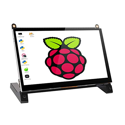 EVICIV 7インチ Raspberry Pi用タッチモニター/ディスプレイ/モバイルモニター/モバイルディスプレイ/HDMI端子/ Raspberry Pi 1/2/3 Model B A+ B+ BB Black Banana Pi Windows 10 8 7対応