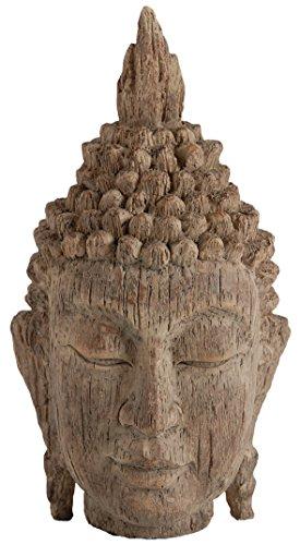 A&B Home 73629 Buddha Head Sculpture, 6.5 by 6.3 by 12-Inch