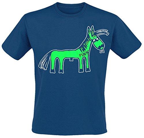 WIZO - Fert T-Shirt, dunkelblau, Grösse XL