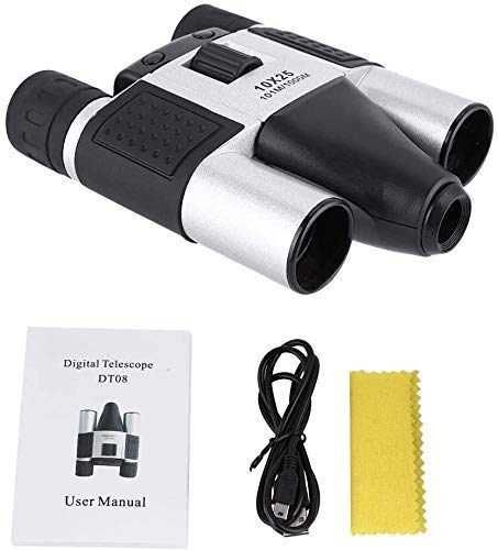 min min Telescopio de cámara Digital de Pinoculares STARSCOPO, binoculares DT08 10x25 para el grabación de Video de DVR Deportivo al Aire Libre