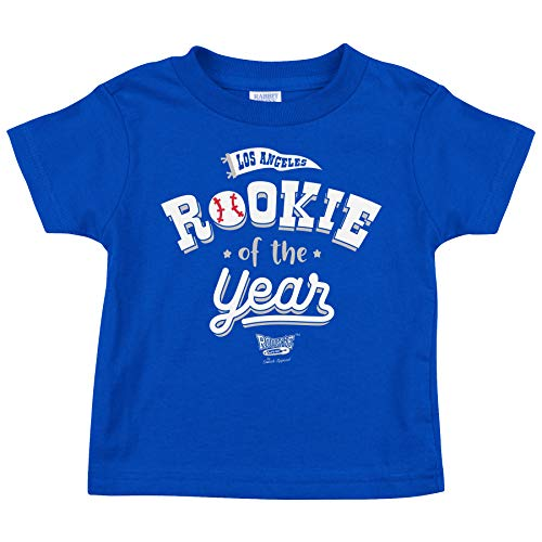Los Angeles Baseball Fans. Rookie of The Year Royal Toddler Tee (Toddler Tee, 4T)