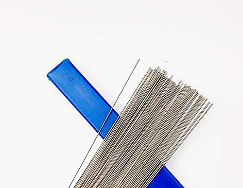 JIALUN ZFX-DIANJI, 40pcs Edelstahl-Metallschweißdraht Argon Lichtbogenschweißen Draht 1,0 mm Edelstahl-Schweißen (Size : 1.0mm Stainless Steel)
