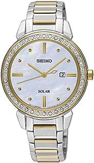 Seiko Women SUT328P Year-Round Analog Quartz Silver Watch