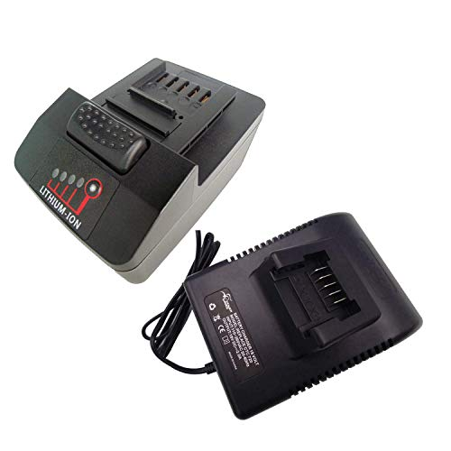 TPDL Battery Replace for Snap on 18V 4.0 Ah Snap on CT7850 CDR7850H CTL7850 CTB7185 CTB8185 CTB8187 and Charger CTC720 CTC123 18V 2A