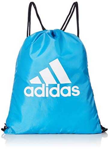 adidas Training Turnbeutel, 47 cm, Shock Cyan/Shock Cyan/White