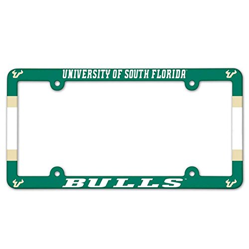 NCAA License Plate with Full Color Frame, University of South Florida