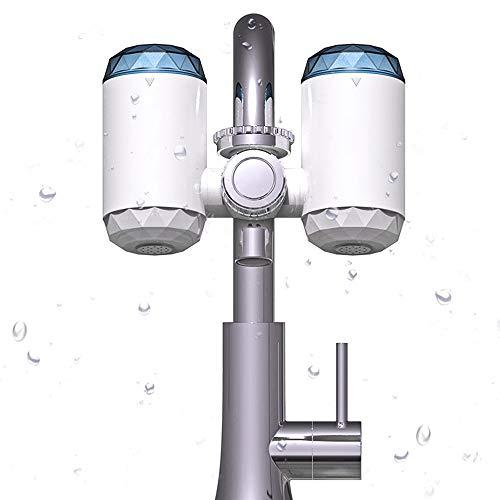 PowerDoF Wasserhahn Wasserfilter, Multifunktions-Ölbewegungs- und Wasserreiniger-Filtersystem, Heimküche Gesundes Leitungswasser und Ölreiniger