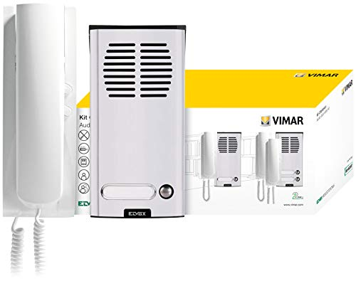 Vimar K8879.01 Kit Citofonico 2 Fili Monofamiliare 8879 + 8101