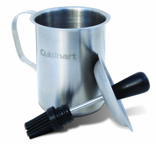 Sauce Pot and Basting Brush Set