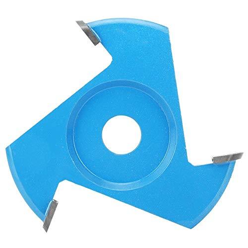 Cuchilla Triangular Para Amoladora Angular Cuchilla Plana Lijado Fresa Talla de Madera Hoja de Carpintería Herramienta de Talla de Disco
