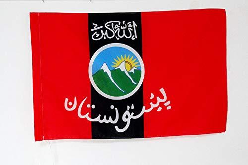 AZ FLAG Flagge PASCHTUNEN VON Afghanistan UND Pakistan 90x60cm - PASCHTUNISCH Fahne 60 x 90 cm Scheide für Mast - flaggen Top Qualität