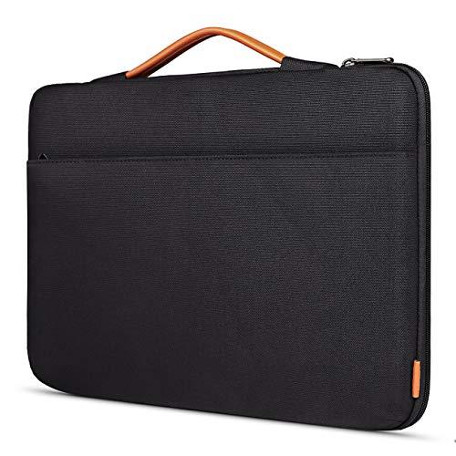 Inateck 17 Zoll Laptoptasche Hülle Wasserdicht Notebook Sleeve Case Schutzhülle Kompatibel 17/17,3 Zoll Laptops