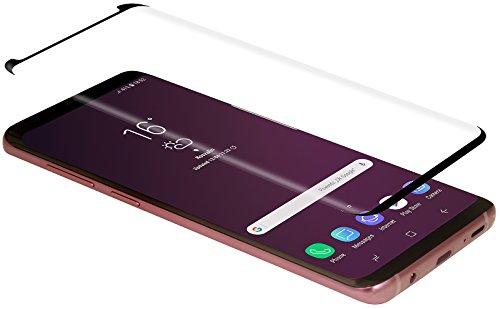 StilGut Displayschutzfolie Panzerglas für Samsung Galaxy S9+, 2er-Pack, Hüllenkompatibel, Schwarzer Rand